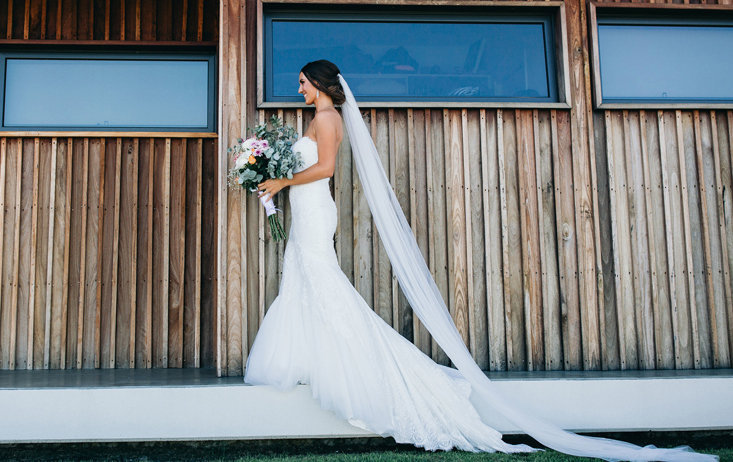 Soft Wedding Veil, All Lengths Available, Long Cathedral Bridal Fingertip Chapel Waltz Knee Ivory