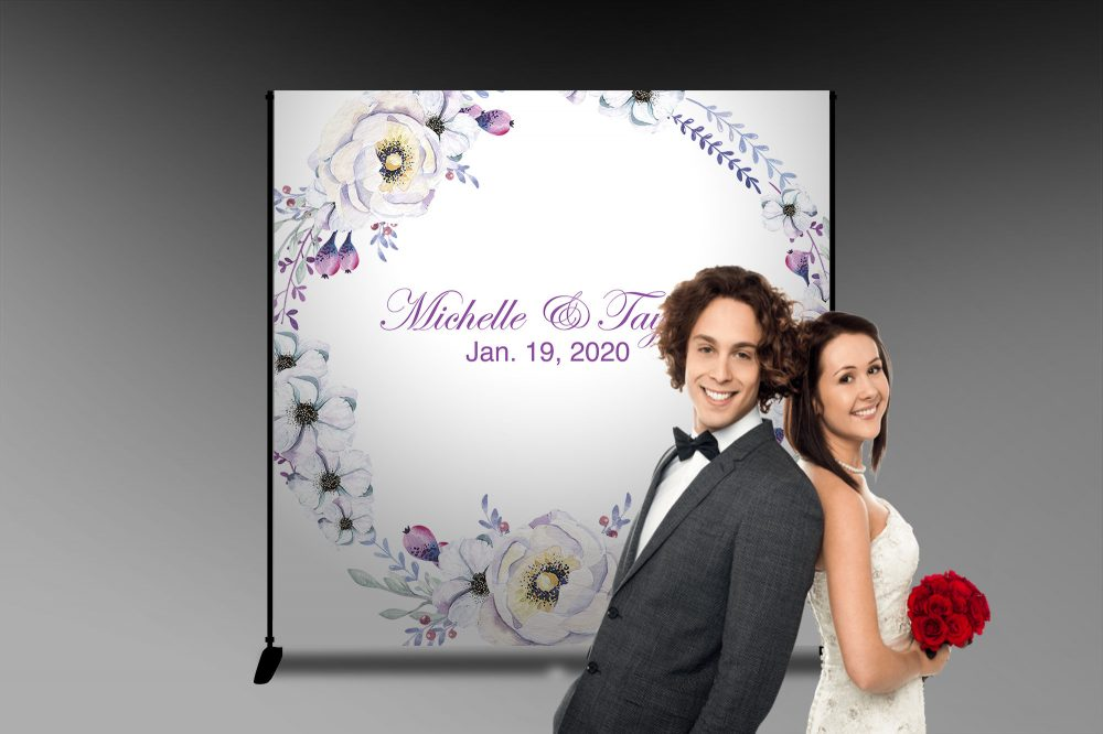 Wedding Banner, Party Banner Diy, Wedding Background, Event Backdrop, Anniversary Bridal Just Married Love