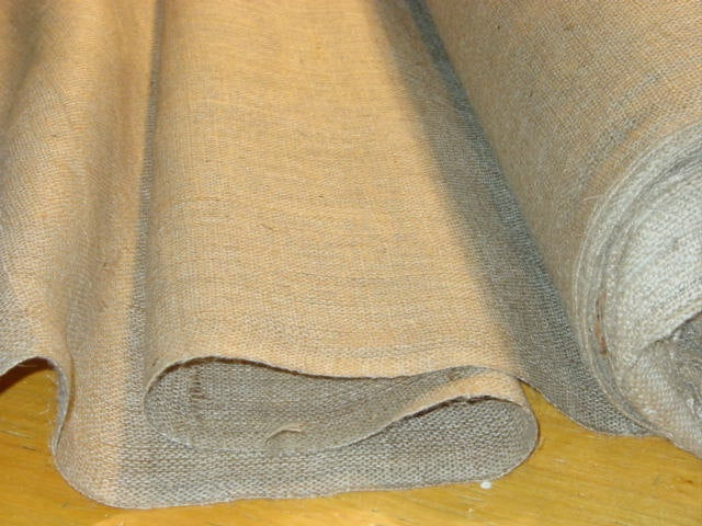 30 Inch Wide 10 Oz Burlap Roll 100 Yards