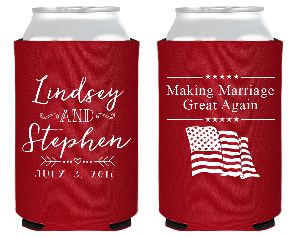 Republican Wedding, Making Marriage Great Again, Fun Wedding Favor, 4Th Of July, July Party Favors, Gifts, 1479