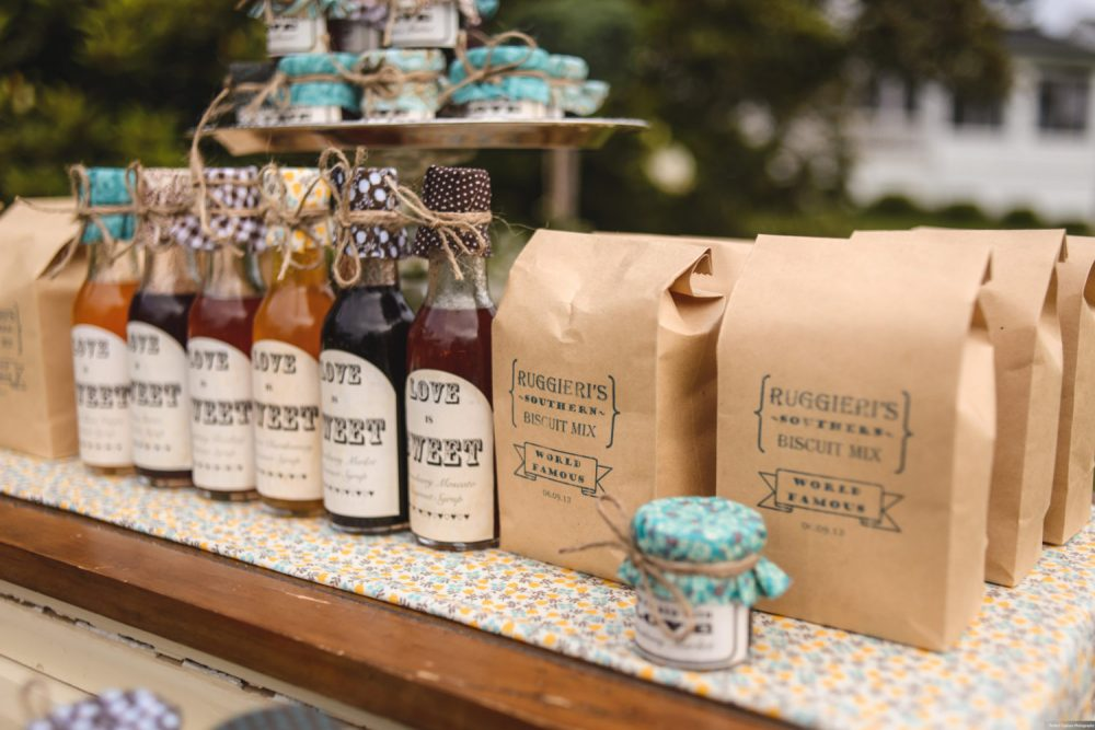 10 Mini Biscuit Mix Custom Wedding Favor Perfect For Southern Weddings, Vintage Rustic Weddings & Shabby Chic Favors