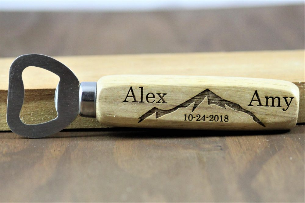 Wedding Favors For Guests, Rustic Favors, Bottle Opener Engraved Openers, Personalized Openers Bulk