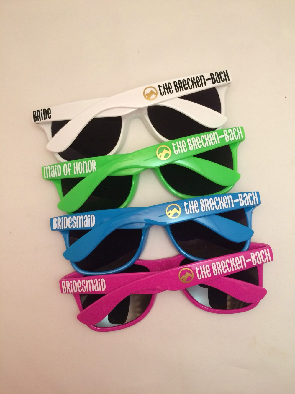 Bachelorette Party Favor - Gift Wedding Favors Personalize Sunglasses Custom Destination