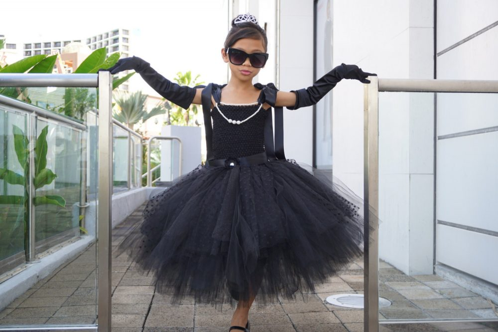 Audrey Hepburn Dress - Tutu Dress Little Black Party