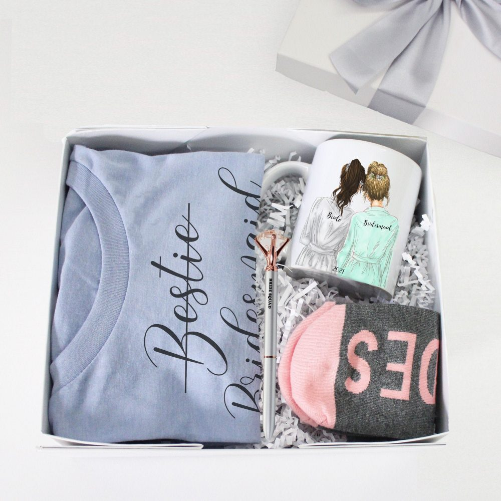 Bridesmaid Proposal Box, Gift Boxes, Will You Be My Present