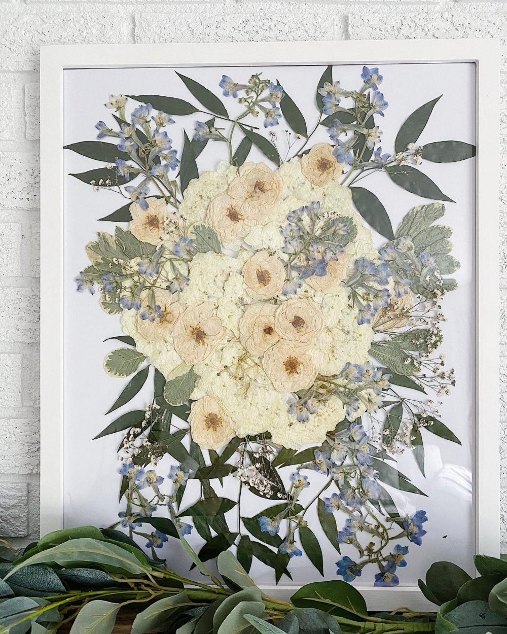 Pressed Bridal Bouquets | Preserved Wedding Bouquet