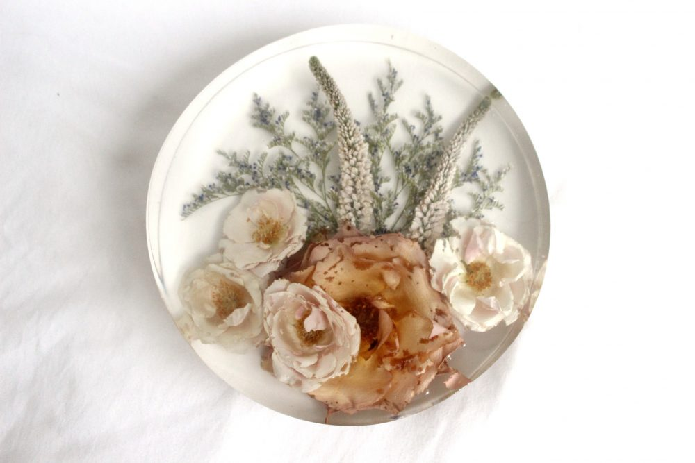 Custom Wedding Bouquet Preservation, Preserved Florals, Dried Flower in Resin