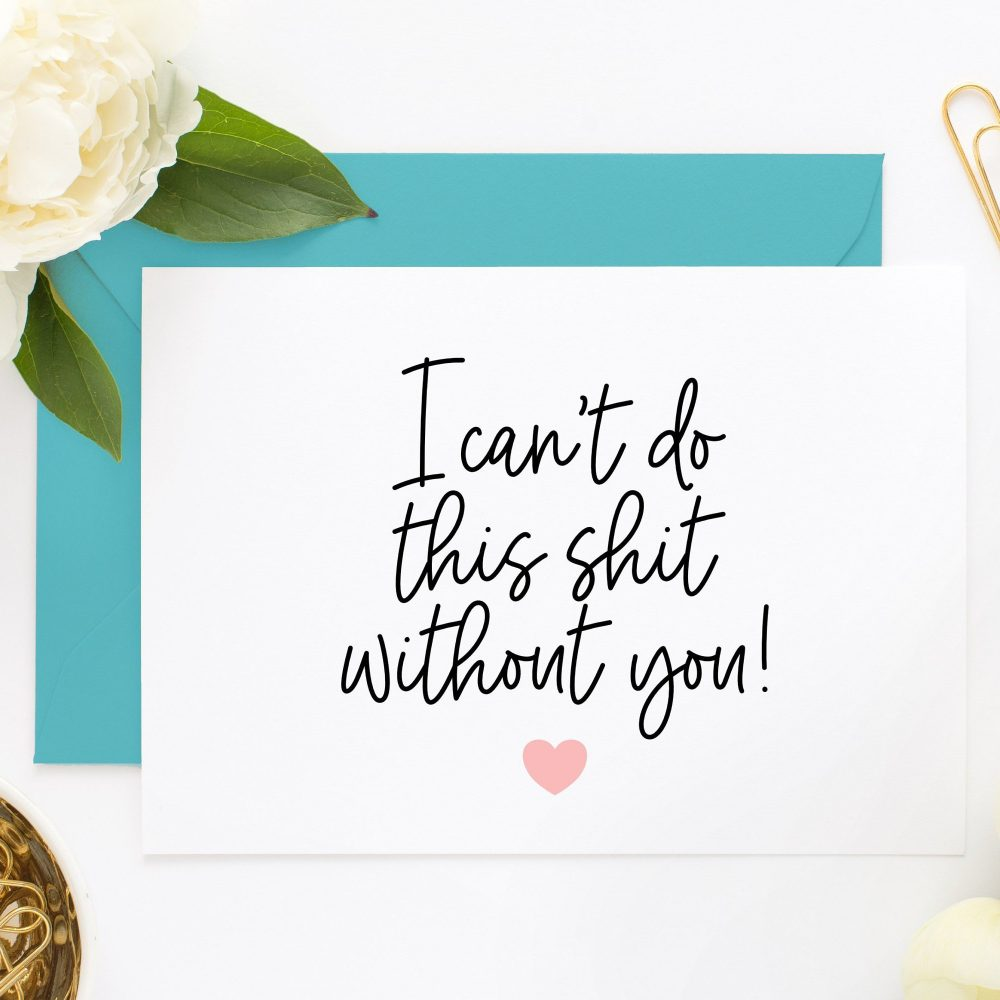 Funny Bridesmaid Cards, Maid Of Honor Card, For Box, Will You Be My