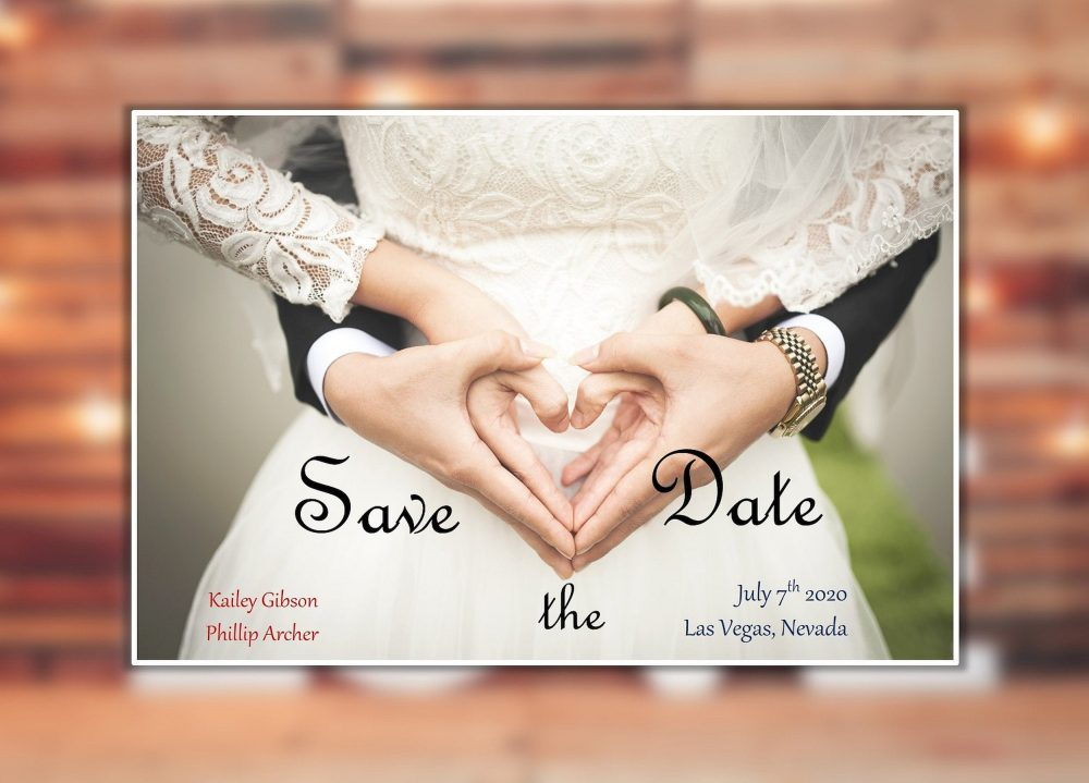 Save The Date Magnet, Wedding Photo Custom Photo Magnet, Personalized Magnet