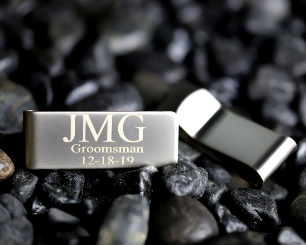 Personalized Money Clip, Clips For Men, Groomsmen Proposal, Metal Clips, Men Personalized, Engraved Clip