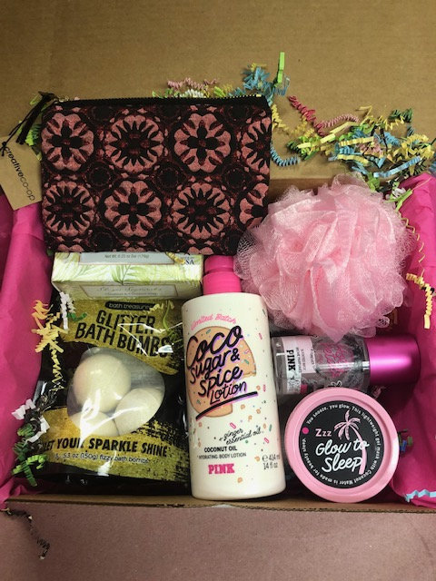 Victoria Secret Spa Basket For Mother's Day, Birthdays, Get Well, Thank You Gifts, Quality Items Included