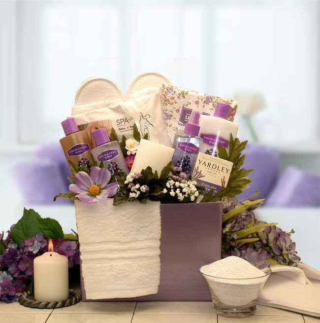 Women's Gift Baskets Spa Basket For Her Inspirations Bath & Body Box Mother's Day