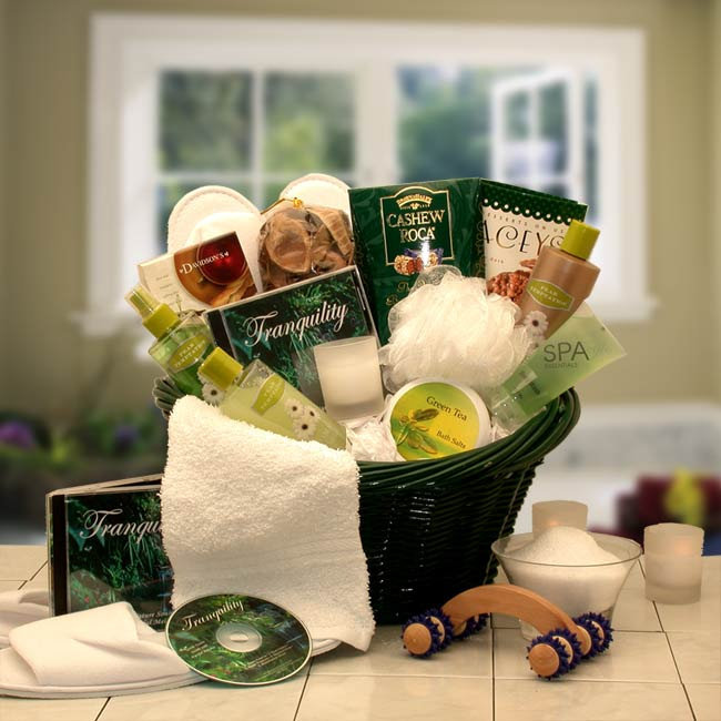 Women's Gift Baskets Spa Basket For Her Luxuries Mother's Day