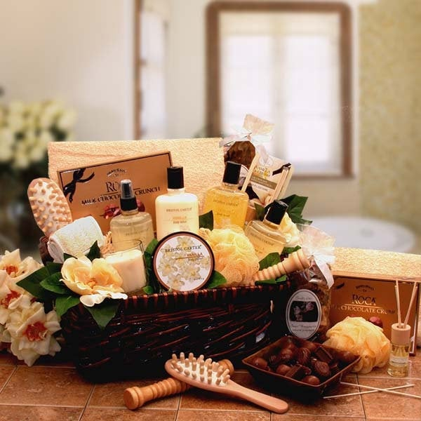 Women's Gift Baskets Spa Basket For Her Therapy Relaxation Hamper Mother's Day