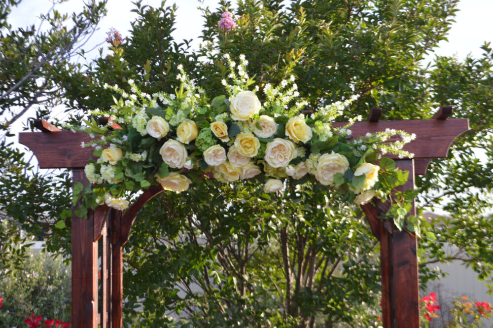 Wedding Arch, Archway Swag, Ceremony Arbor Church Large Arch Xl Swag