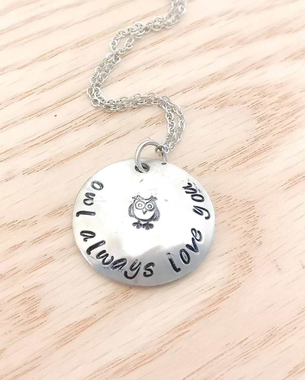 Owl Always Love You Necklace - Mother's Day Gift, Owl Jewelry, Necklace, Mother Daughter Gift For Mom