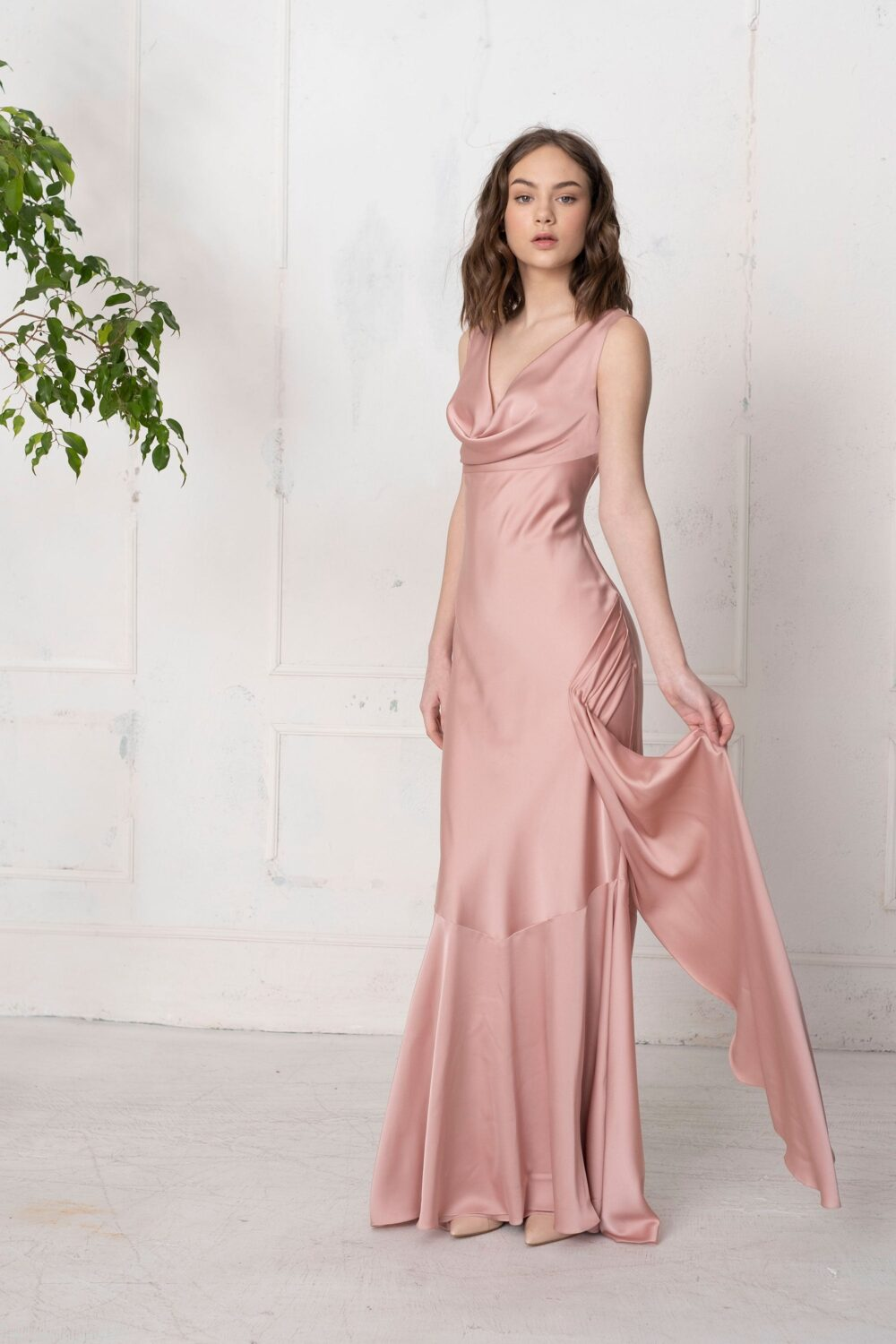 Bridesmaid Cocktail Prom Mother Of The Bride Simple Wedding Plus Size Dress Jenifer Pp3003.01