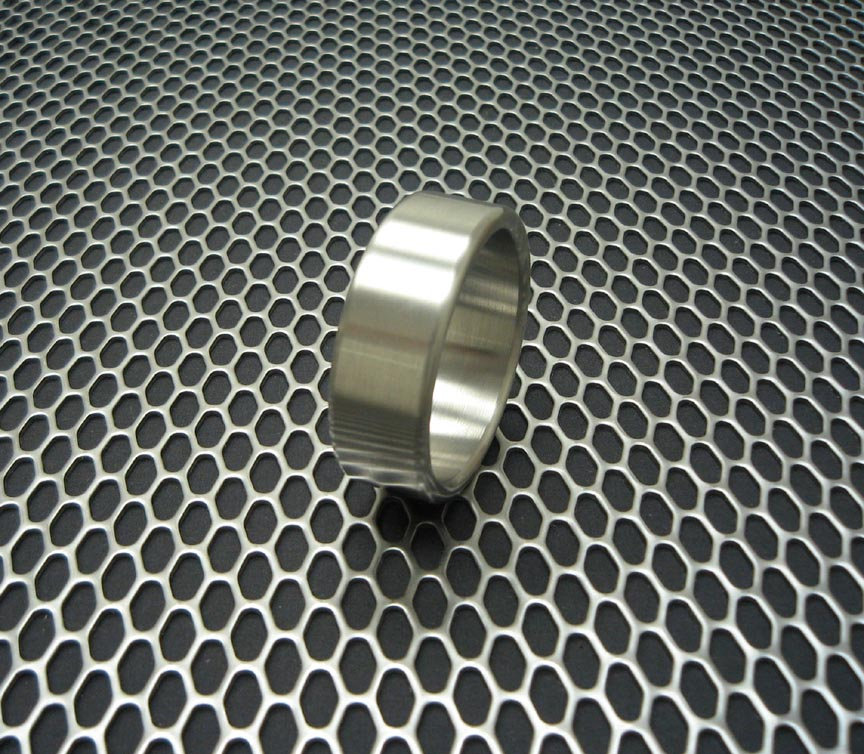 Ballistic Metal Series Stainless Steel Extra Wide Style Cockring Cock Ring, Penis Enhancer