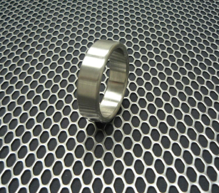 Ballistic Metal Series Stainless Steel Wide Style Cockring Cock Ring, Penis Enhancer Cring