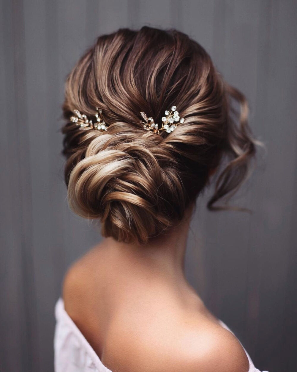 Bridesmaid Hair Pins Rose Gold Bridal Hairpiece Wedding Accessories Silver Comb Hairpin