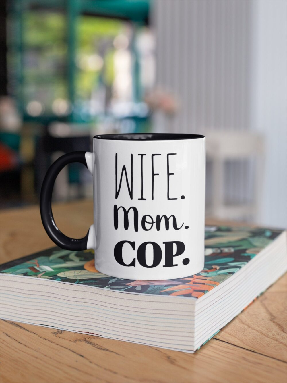 Female Police Officer Gifts, Gifts For Women, Coffee Mug, Cop Mom Mother Mug