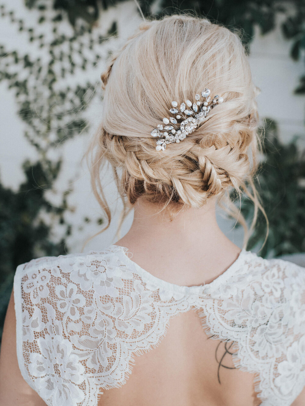 """Wedding Hair Accessories, Comb, Bridal Headpiece - """"Collette"""" Small Comb in Silver Or Gold"""