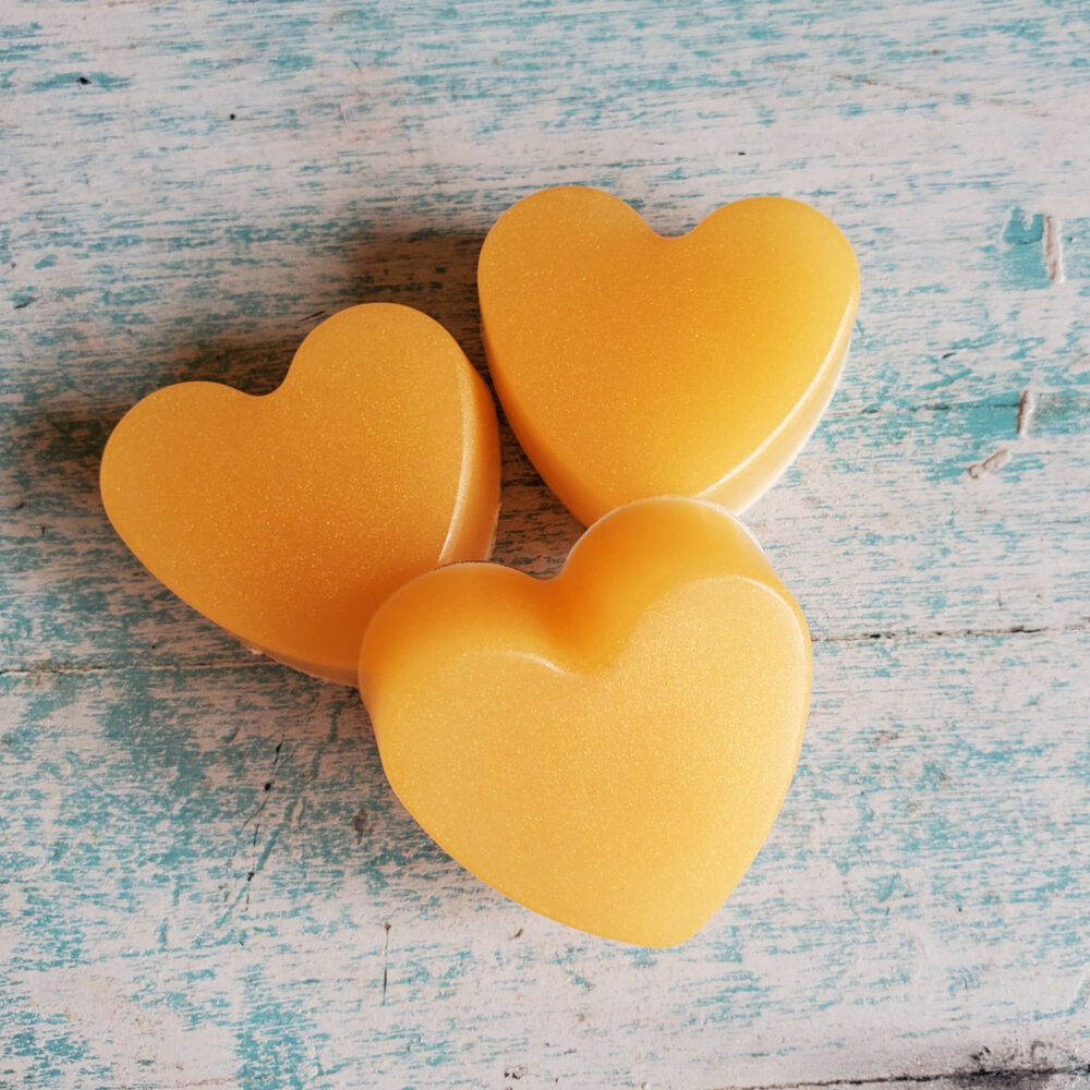 Champagne Soap Bars, Bridal Shower Soaps, Mini Party Favors, Heart Organic Skin Care, Moisturizing Wedding Favors