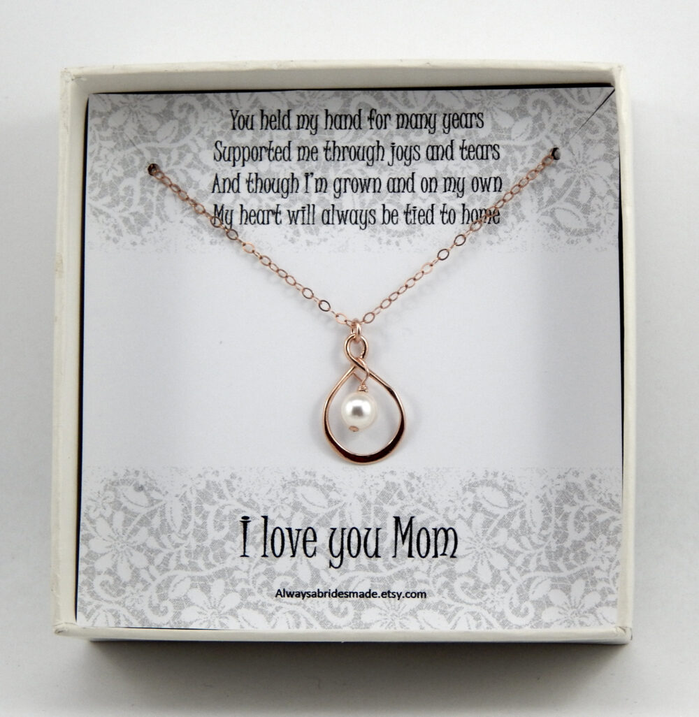 Mother Of The Bride Necklace Gift, Mother Of The Necklace, Mother Gift Box Bride, Wedding Gift For