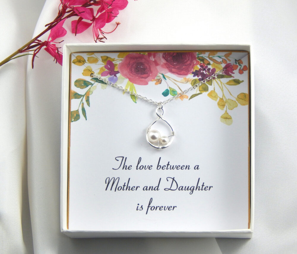 Mother Of The Bride Necklace, Mother Of The Gift, Gift From Daughter To Mother, Mother Bride, Wedding Gift