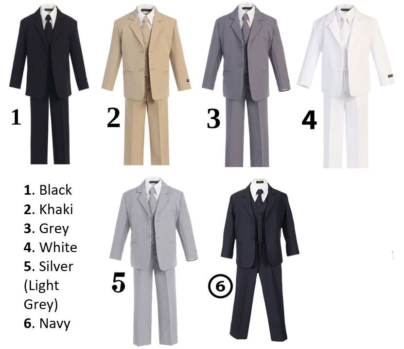 Boys Infants Toddlers Ring Bearer Suit Outift