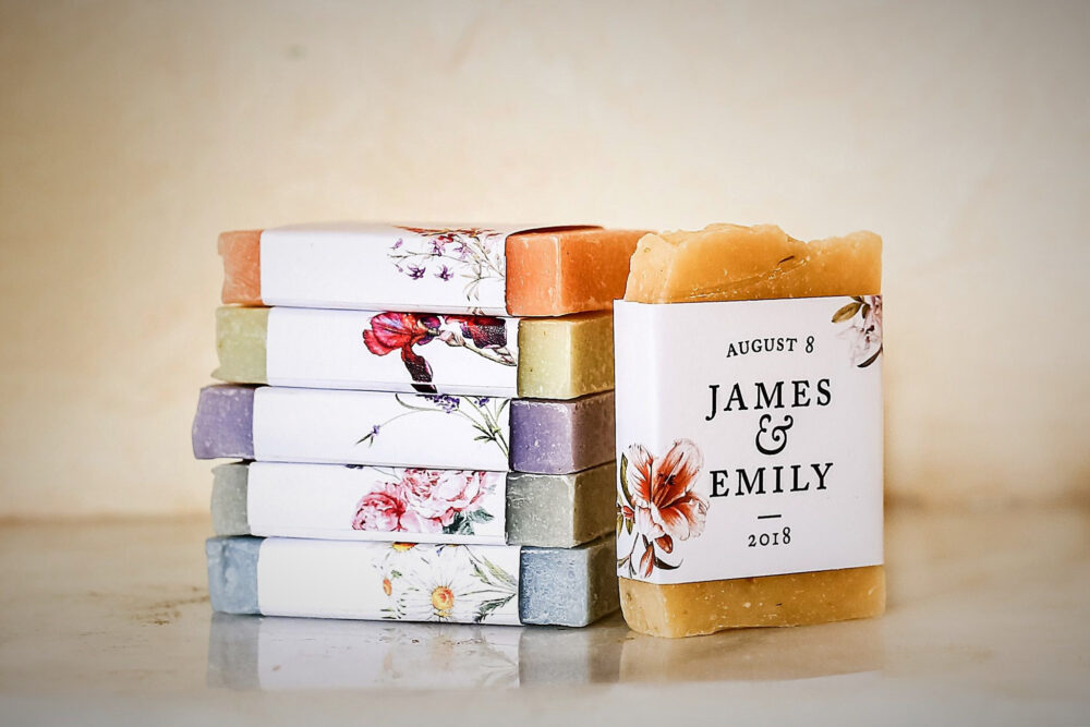 Wedding Soap Favor For Guest Shower Favors Fall Wedding Bridal Autumn Personalized Flower