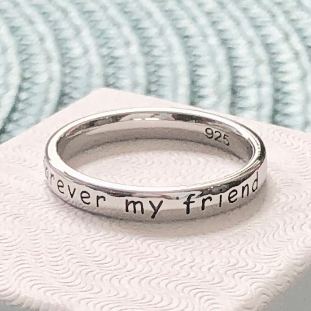 Daughter Ring - Always My Daughter, Forever Friend Gift For Your Daughter - Father Daughter Gift - Mother Gift - Birthday