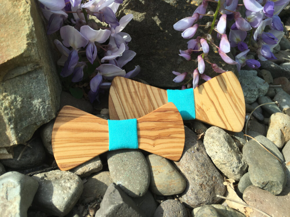 Father Son Set in Olive Wood