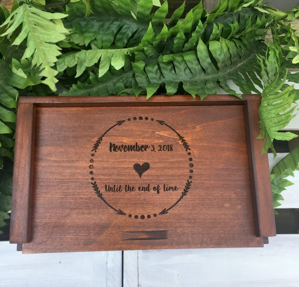 Watch Box, Groom Gift, Custom Made, Wedding Gift For Groom, Engraved, Personalized, Boyfriend Husbands