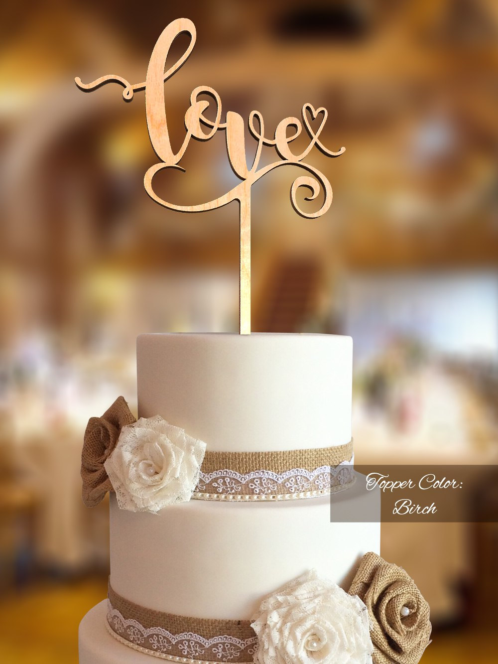 Love Cake Topper. Wedding Fnlv03. Rustic Topper Wedding. Cake For Topper
