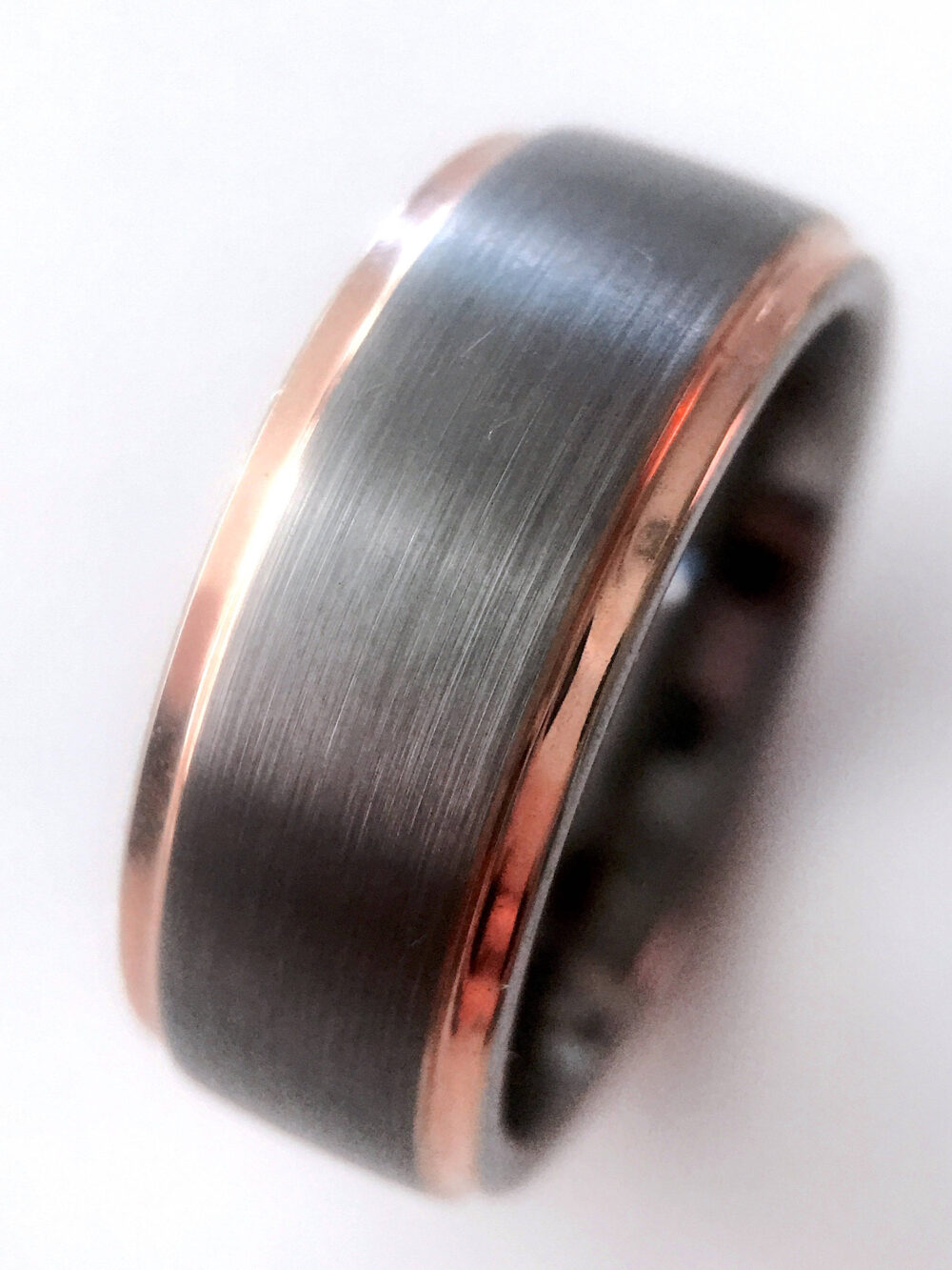 Unique Matching Wedding Bands, Tungsten Rings, His & Her Promise Ring, Engagement Carbide, Couples Band Set