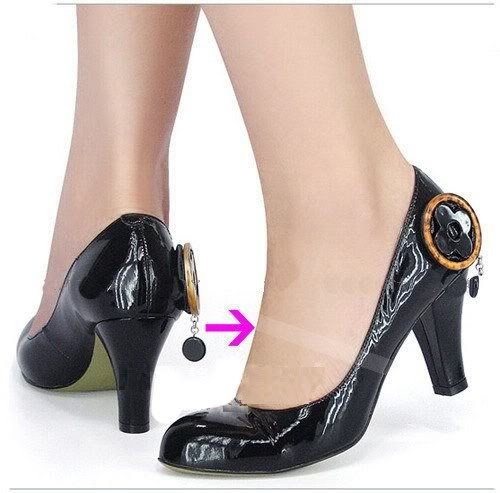 3 Pairs Invisible Shoe Straps For Retaining Loose Shoes - Dance Shoes Ghost Clear Straps