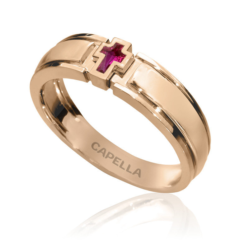 Christian Wedding Bands With Diamond | Ring Unisex Best Gift For Men & Women