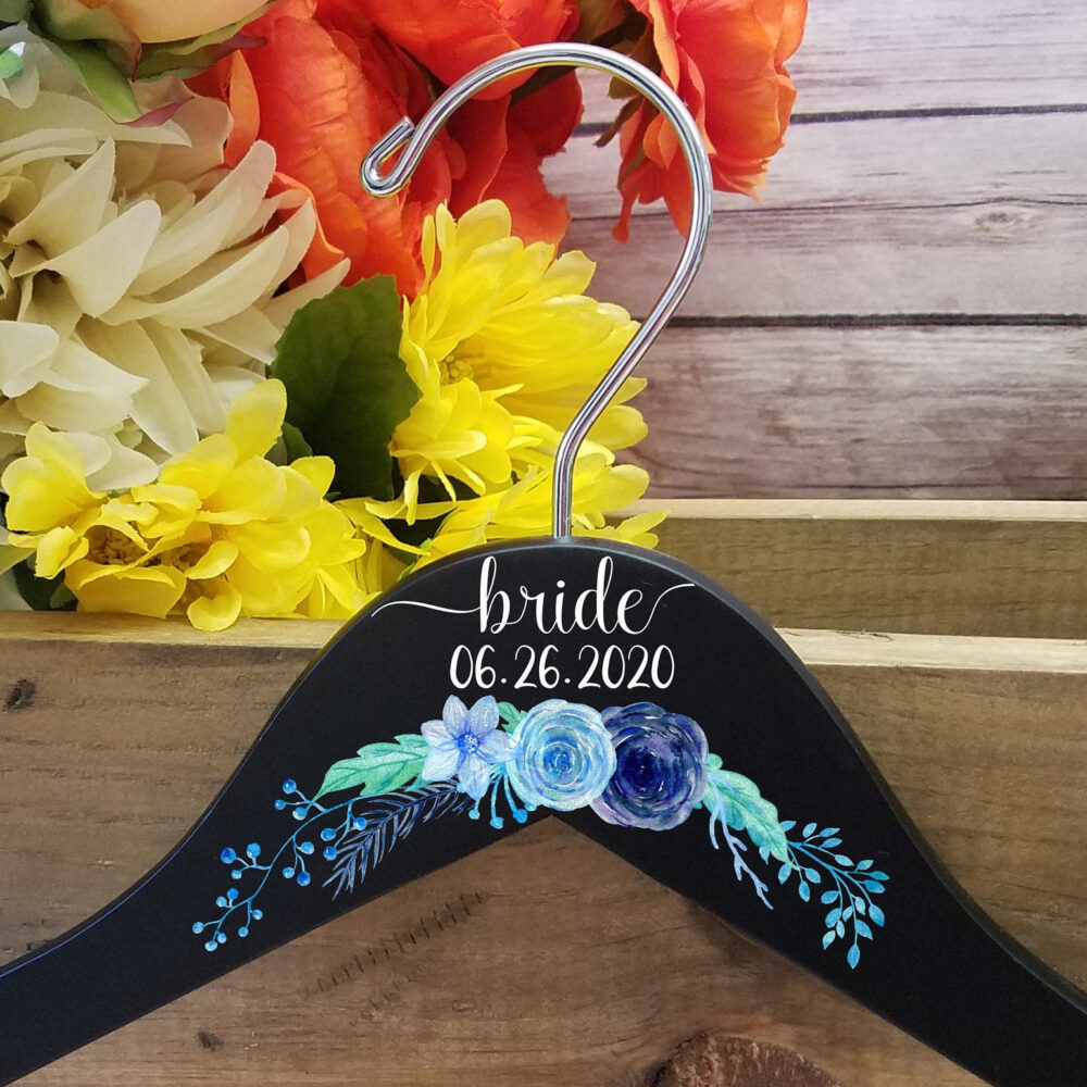 Bride Wedding Hanger, Personalized Bridesmaid Hangers, Gift For Bridesmaids, Dress Bride, Shower