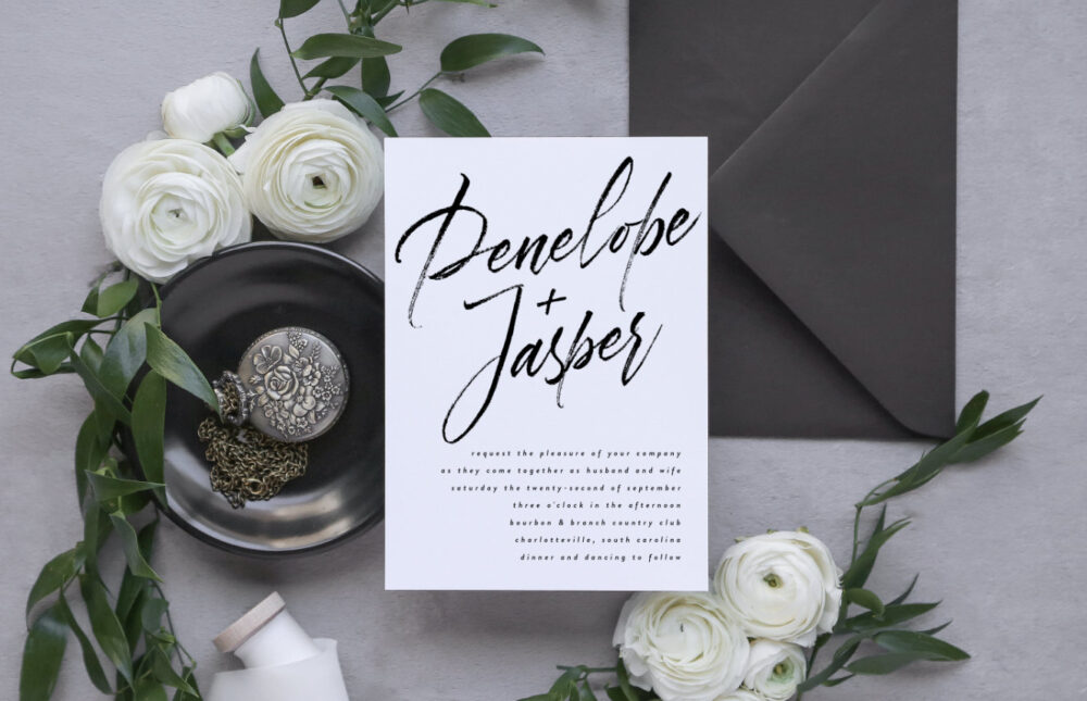 Modern Wedding Invitation Template, Printable Invitation, Diy Invitations Invites Templates Doro 3465066