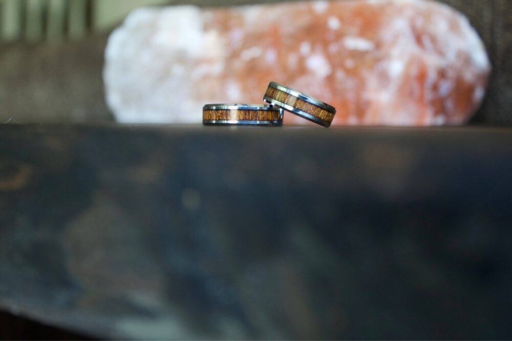 Wood Ring, Tungsten Carbide Rings, Wooden Ring, Rings, Wedding Band, Rings For Men, Wood, Wedding Band