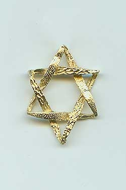 Jewish Dad Gifts. Father's Day. Gold Star Of David. Gifts For Dad. Father Tie Pin. Necktie