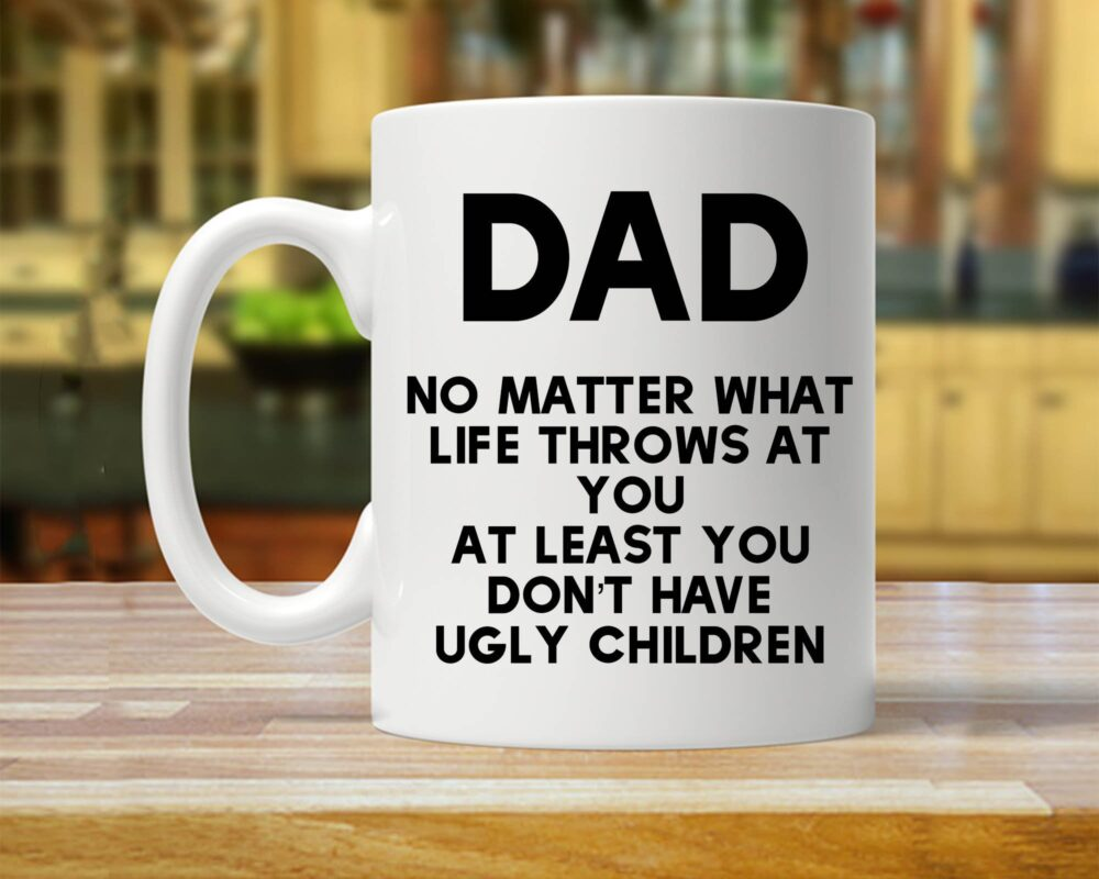 Funny Dad Mug For Men, Gift, Gift Dad, Father's Day, Birthday Present Coffee Mugs, Father Him