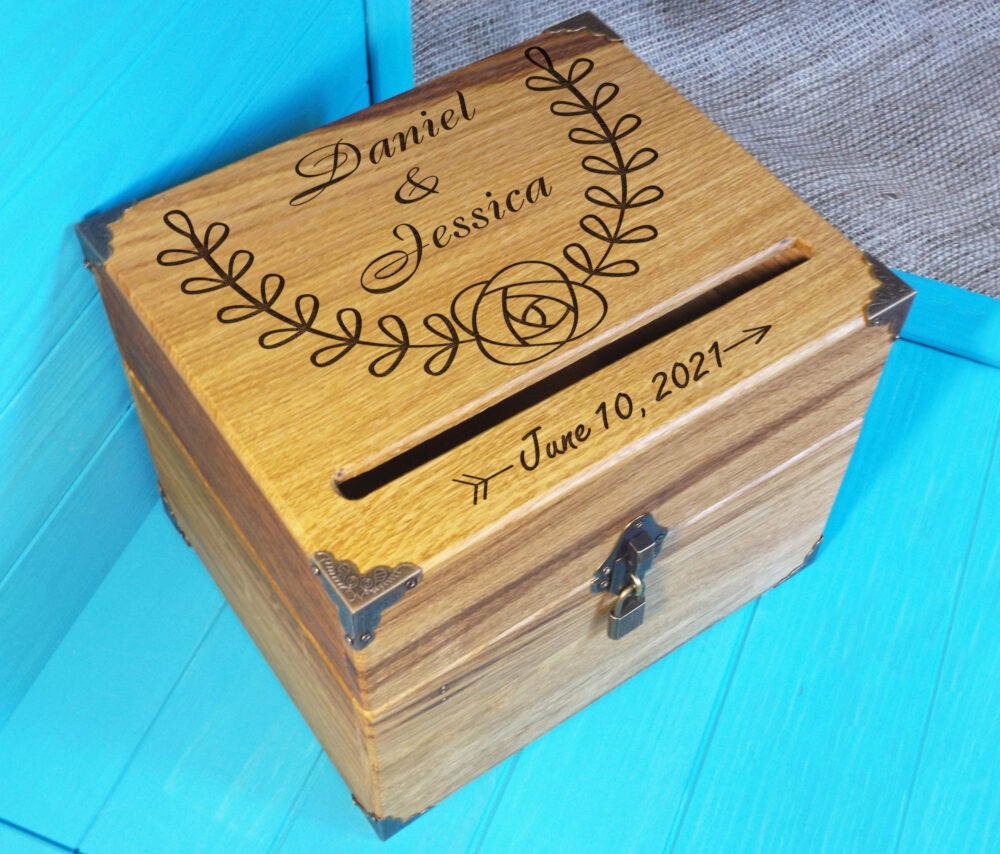 Wedding Card Box-Shabby Chic Box-Wedding Wedding-Rustic Box-Rustic Box-Custom Wooden Box