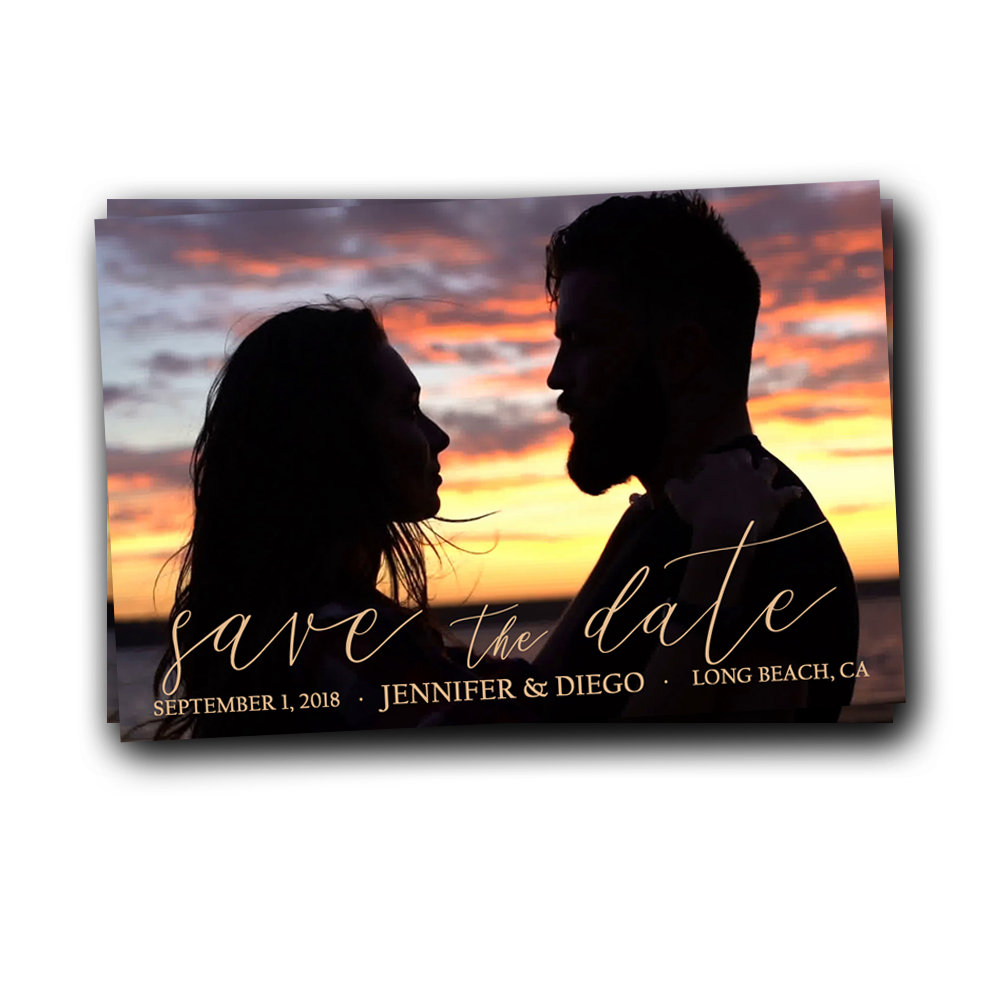Photo Save The Date Magnet, Wedding Date, Save Date, Beach Magnet, Picture, Set Of 50 Magnets