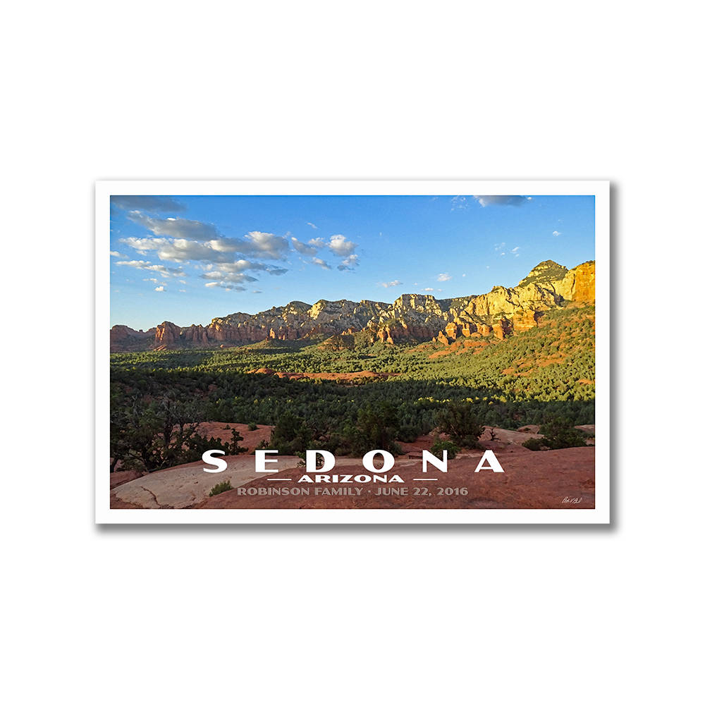 Custom Postcards, Create Your Own National Park Travel Custom Personalized Postcards
