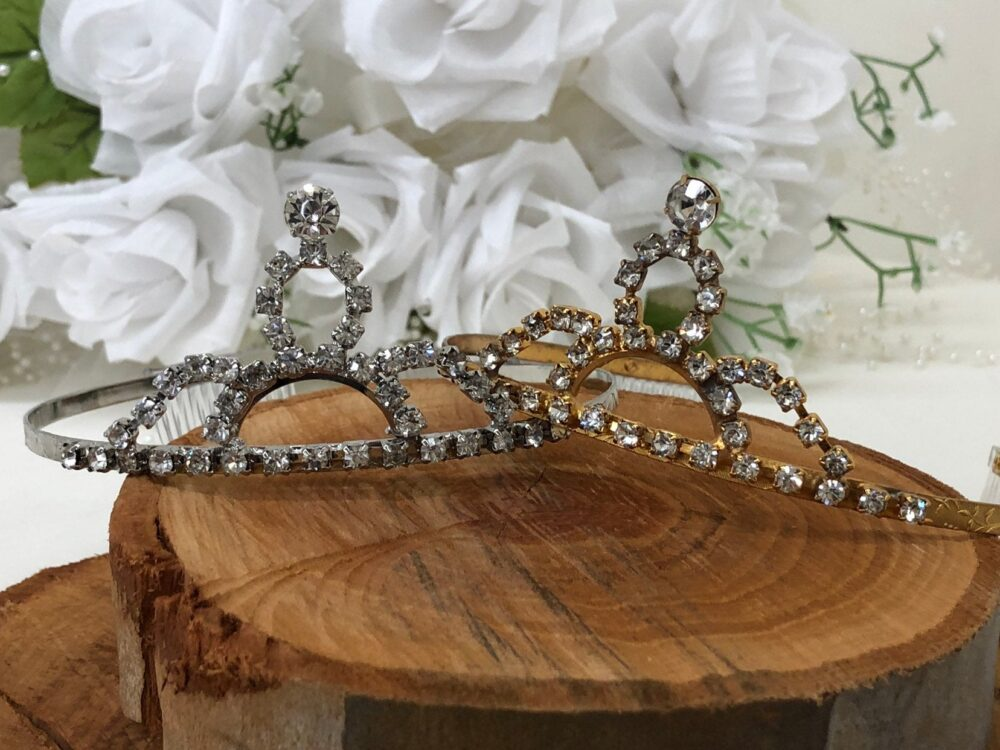 Vintage Rhinestone Tiara With Stunning Detail Perfect For Your Wedding, Prom, Sweet 16, Quinceanera, Or Be A Princess, Queen