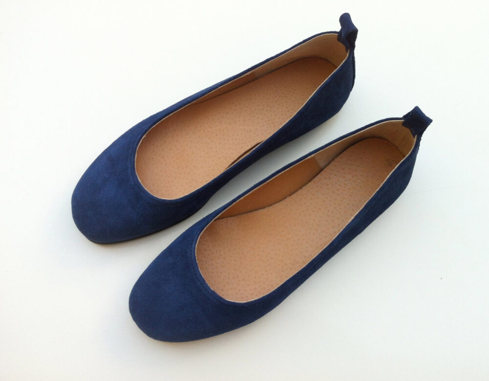 Leather Flat Shoes For Women, Womens Ballet Shoes, Pumps, Valentine's Day Gift Her, Ballet