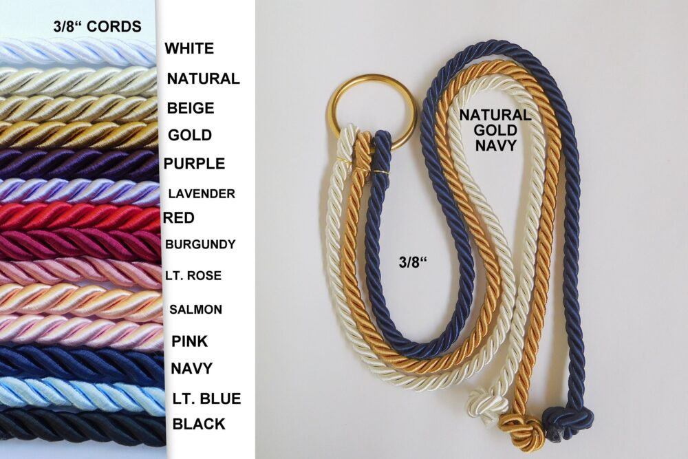 Ecclesiastes 412, A Cord Of Three Strands, Wedding Unity Cords, Knot Wedding, Braid Ceremony, Gods Unity Cord, 3/8""