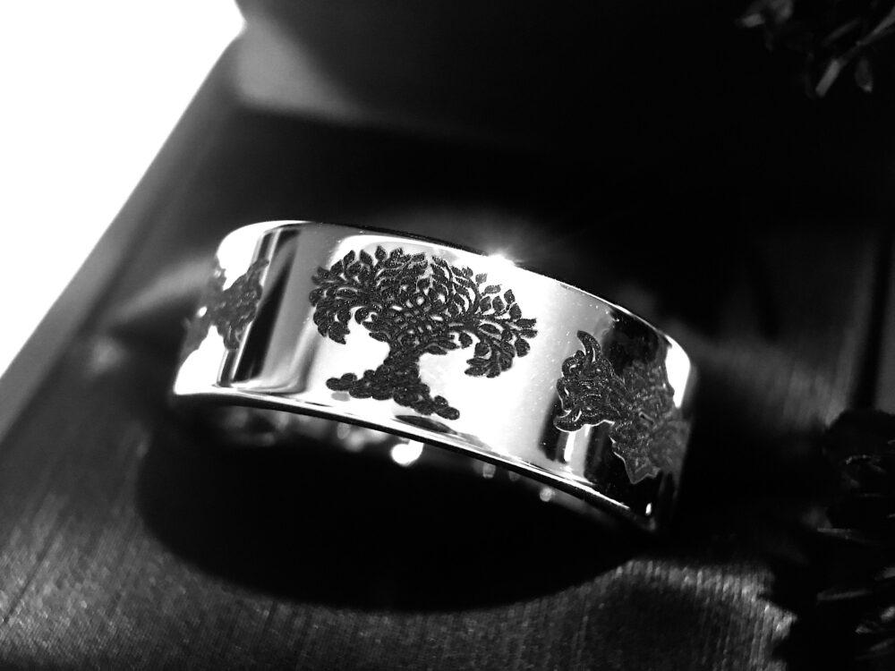 Tree Of Life Ring, Celtic Wedding Band, Love Knot Mens Women, Unique Bands, Rings, Custom Made Rings By Paradise